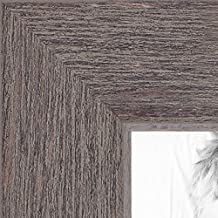 ArtToFrames 20x24 inch Gray Rustic Barnwood Wood Picture Frame, WOM0066-77900-YGRY-20x24