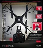 Propel Cloud Rider HD 2.0 Streaming Quadcopter Drone for Intermediate Skill Level Pilots! 17 Inch Span! 2 Free Batteries & Micro SD! VR Headset Compatible!