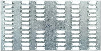 "Mending Plate 6/"" x 8/"" Galvanized 22 gauze steel Truss"
