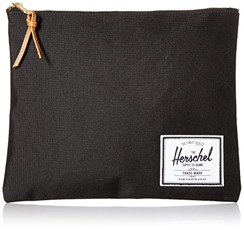 Herschel Supply Co. Network Large Pouch, Black, One (Large Pouch)
