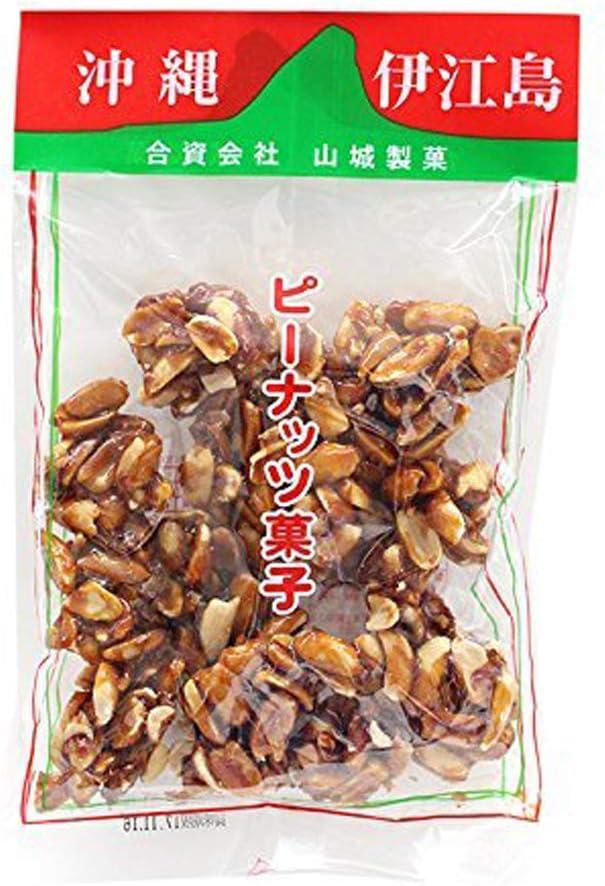 伊江島名産ピーナツ菓子 180g×3P 山城製菓 特産品であるピーナッツに相性がとても良い黒糖蜜をからめました