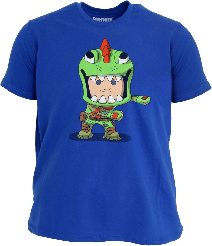 Fortnite - Camiseta Infantil (12/13 Años) (Azul): Amazon.es: Ropa ...
