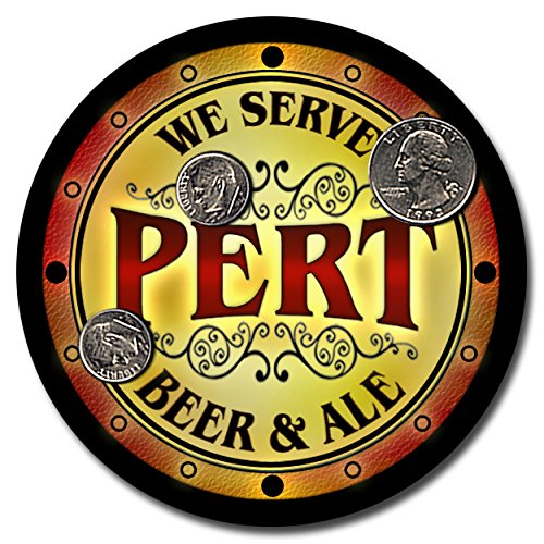 pert-family-name-beer-and-ale-rubber-drink-coasters-set-of-4