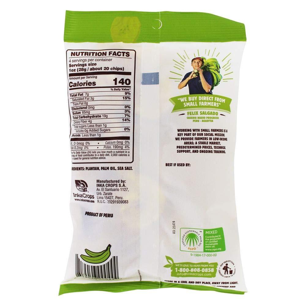 Inka Crops Inka - Chips de plátano (12 unidades): Amazon.com ...
