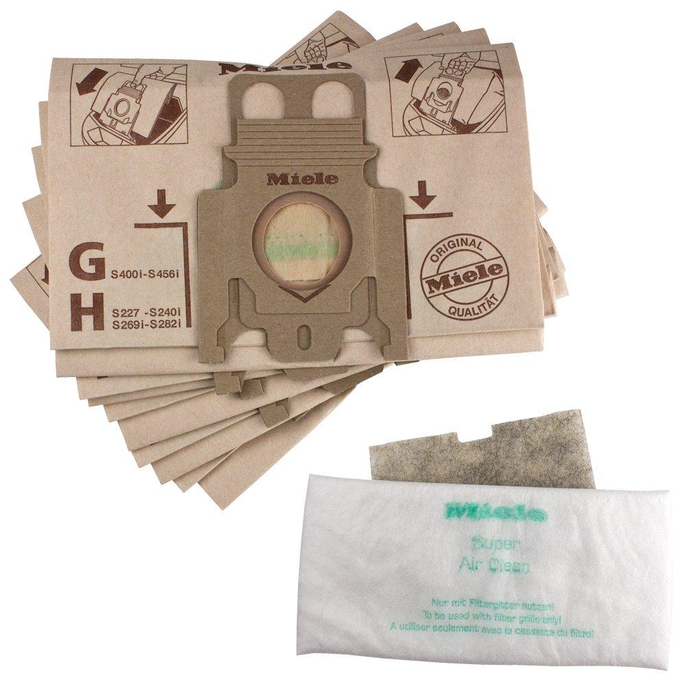 Amazon.com: Genuino Miele tipo H bolsas para aspirador Miele ...