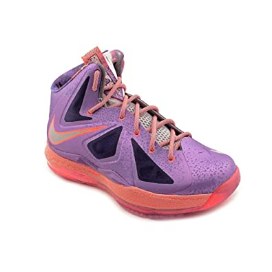Nike LeBron X GS All Star Area 72 Extraterrestrial Galaxy Basketball Shoes  543564-500 ( d760d99ba