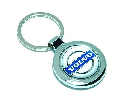 Volvo Metal clave Anillo Regalo Llavero: Amazon.es: Coche y moto