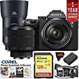 Sony Alpha a7 III Mirrorless Digital Camera with 28-70mm Lens & 135mm Lens Master Photographers Kit