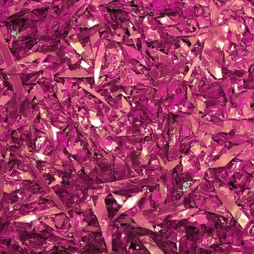 1.5 oz. Cerise foil confetti - Foil Cerise