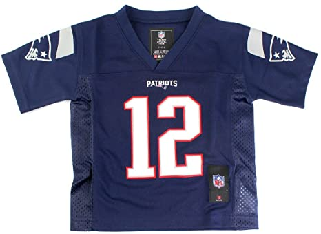 Outerstuff Tom Brady  12 New England Patriots NFL Toddler Mid-tier Jersey  Navy ( d43c07243