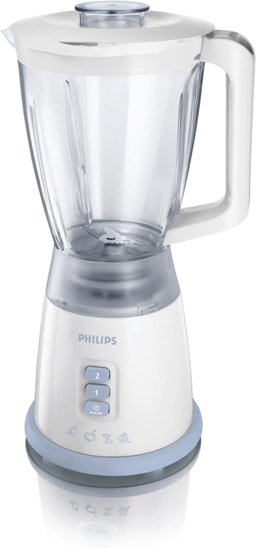 Philips HR2027/75 - Licuadora (1,75 L, Batidora de vaso, Azul ...