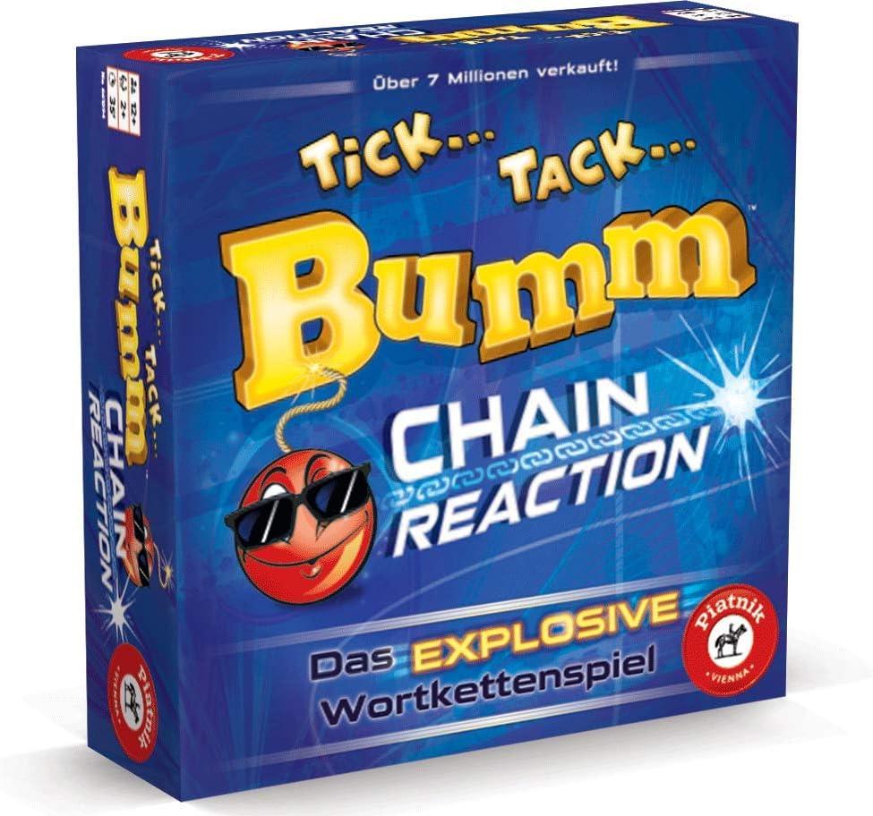 Piatnik 6615 Tick Tack Bumm Chain Reaction - Juego de Mesa [Importado de Alemania]: Amazon.es: Juguetes y juegos