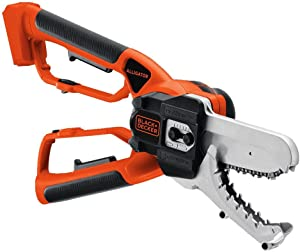 BLACK+DECKER 20V MAX Alligator Lopper Cordless Chainsaw, Tool Only (LLP120B)