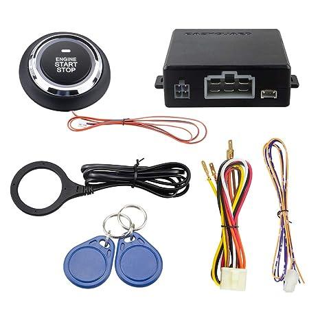 EASYGUARD EC008-p2 Smart Key RFID Sistema de alarma para ...