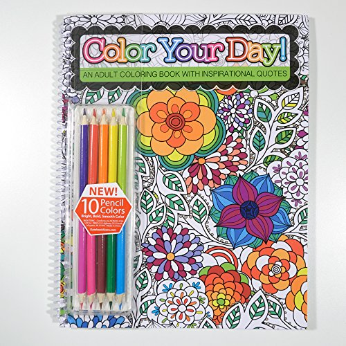 Color Your Day Coloring Inspirational product image