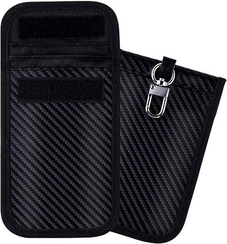 Amazon.com: Faraday bolsa para llavero de protección, caja ...