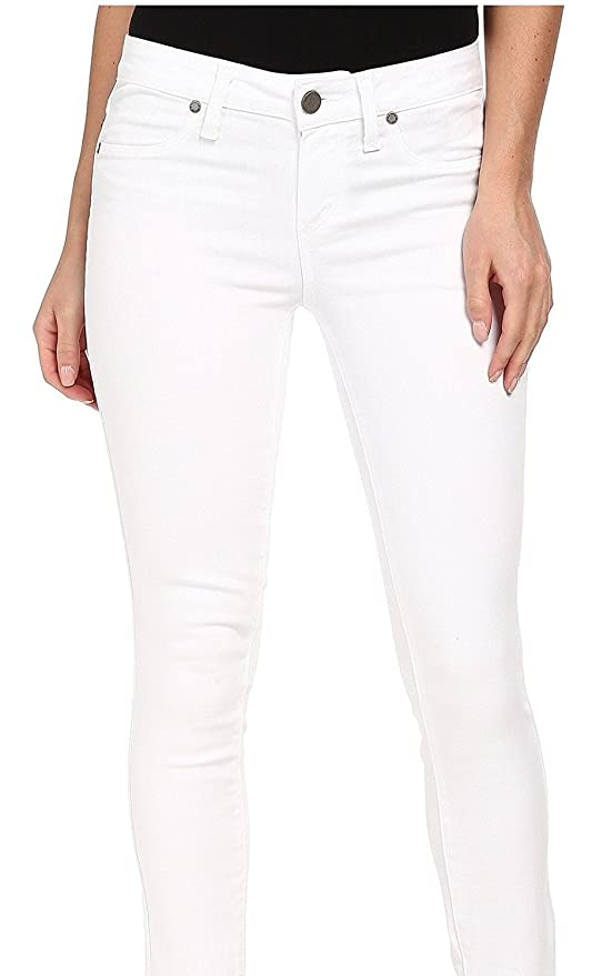 755049ffed0 Amazon.com: PAIGE Denim Women's Verdugo Ankle Jeans With Raw Hem In Optic  White: Clothing