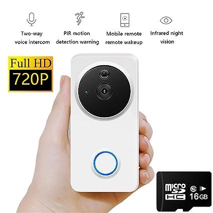 Smart Home Seguridad Cámara De Vigilancia 720P HD Wireless ...