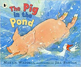 Image result for pig in the pond