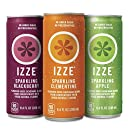 IZZE Sparkling Juice, 3 Flavor Variety Pack, Pack of 24, 8.4 oz Cans