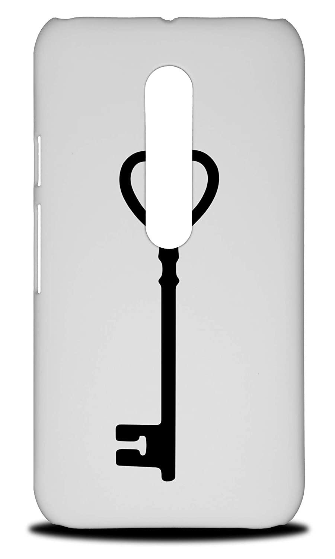Amazon com: Key Love Heart 2 Hard Phone Case Cover for