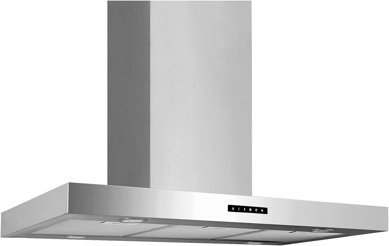 Campana extractora ancha de acero inoxidable, 90 cm: Amazon.es: Grandes electrodomésticos