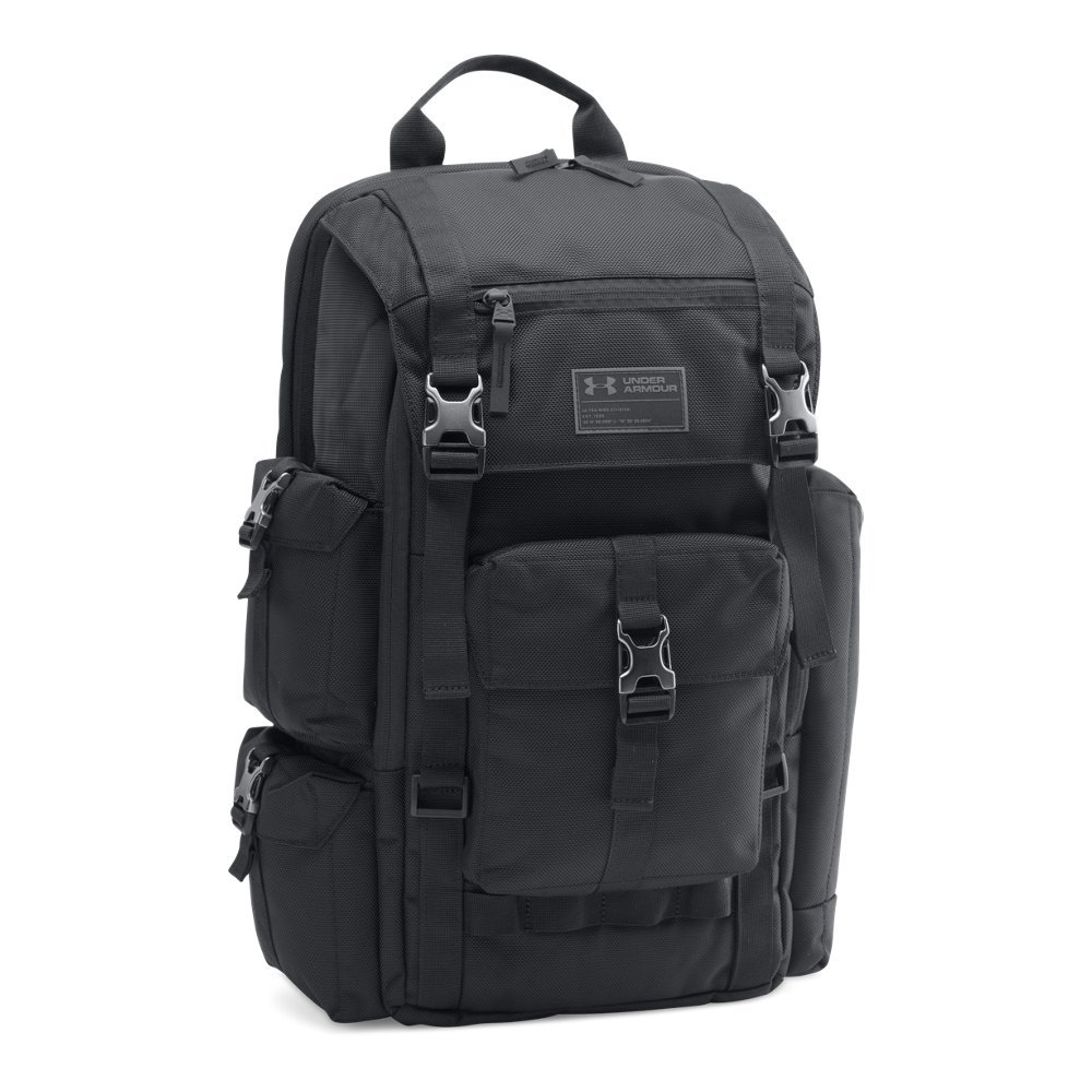 Under Armour CORDURA Regiment Backpack, Black (001)/Charcoal, One Size by Under Armour