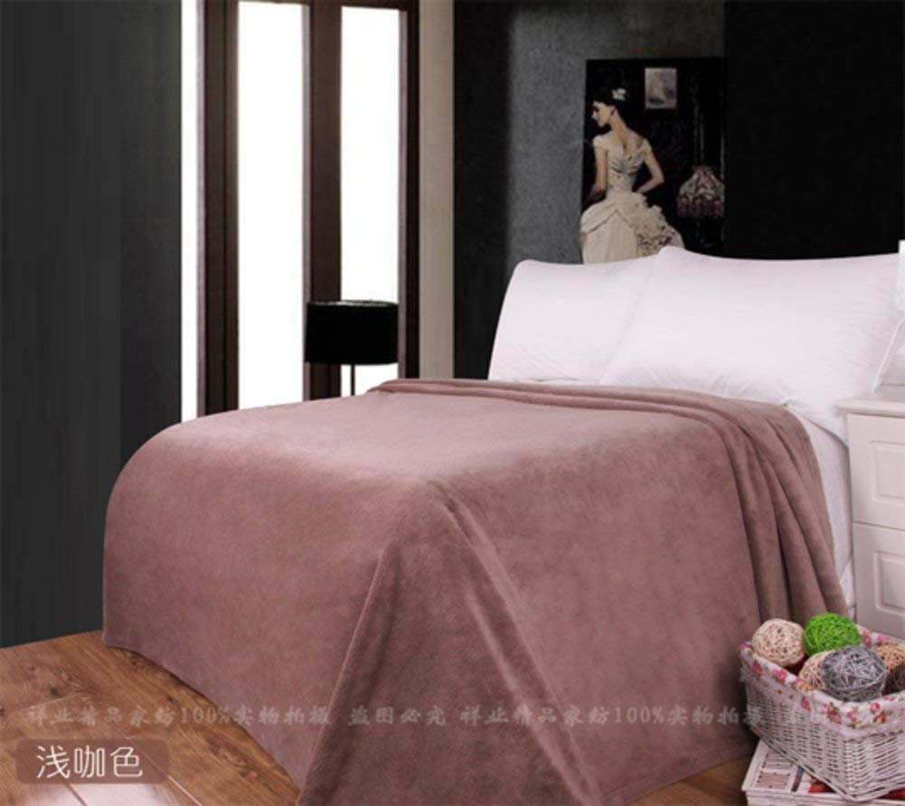 Yunyilian ベッドの裏地の冬の厚くされたフランネルの綿毛布、暖かい単一の二重タオルのキルト毛布 (Color : 250x260cm(98x102inch), サイズ : F) B07SQLYJ71 250x260cm(98x102inch) F
