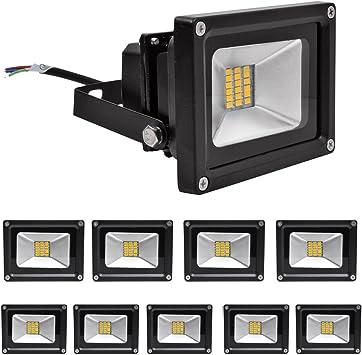 LED Fluter Strahler Flutlicht Außen Scheinwerfer Lampe Bewegungsmelder IP65 SMD