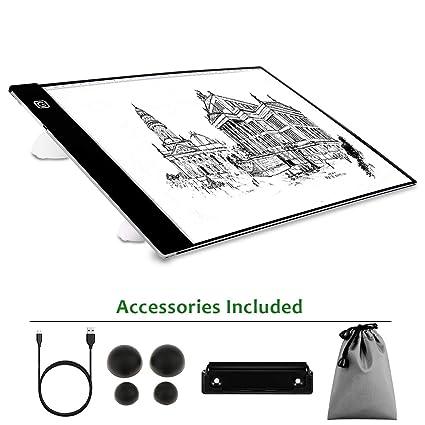 Amazon Com Portable Light Box A4 Ultra Thin Drawing Tracer Light