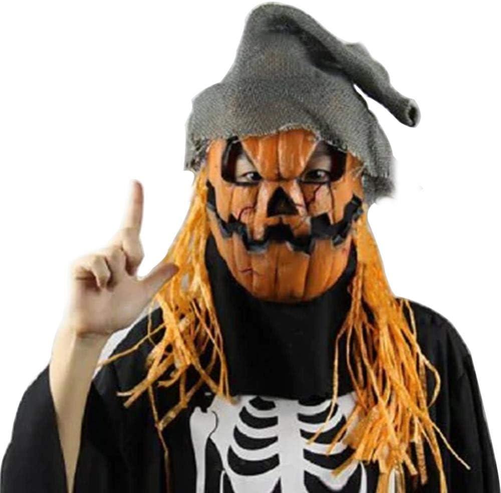 Halloween Creepy Props Máscara de Fiesta Realista de Goma ...