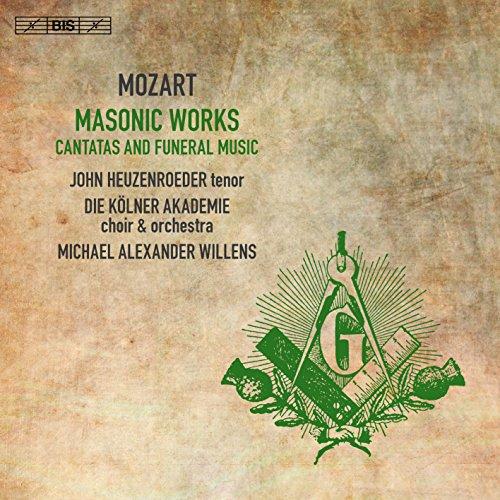 Masonic Works - Cantatas & Funeral Music