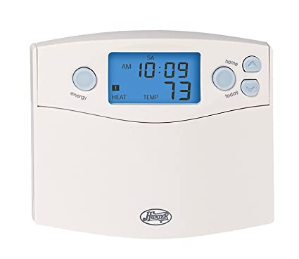 hunter 44360 set and save 7 day programmable thermostat rh amazon com Hunter Thermostat 44377 Manual Old Hunter Programmable Thermostat
