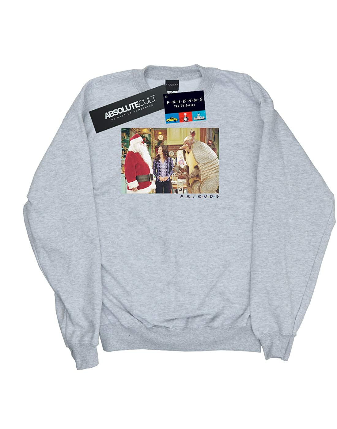 Absolute Cult Friends Girls The Holiday Armadillo Sweatshirt