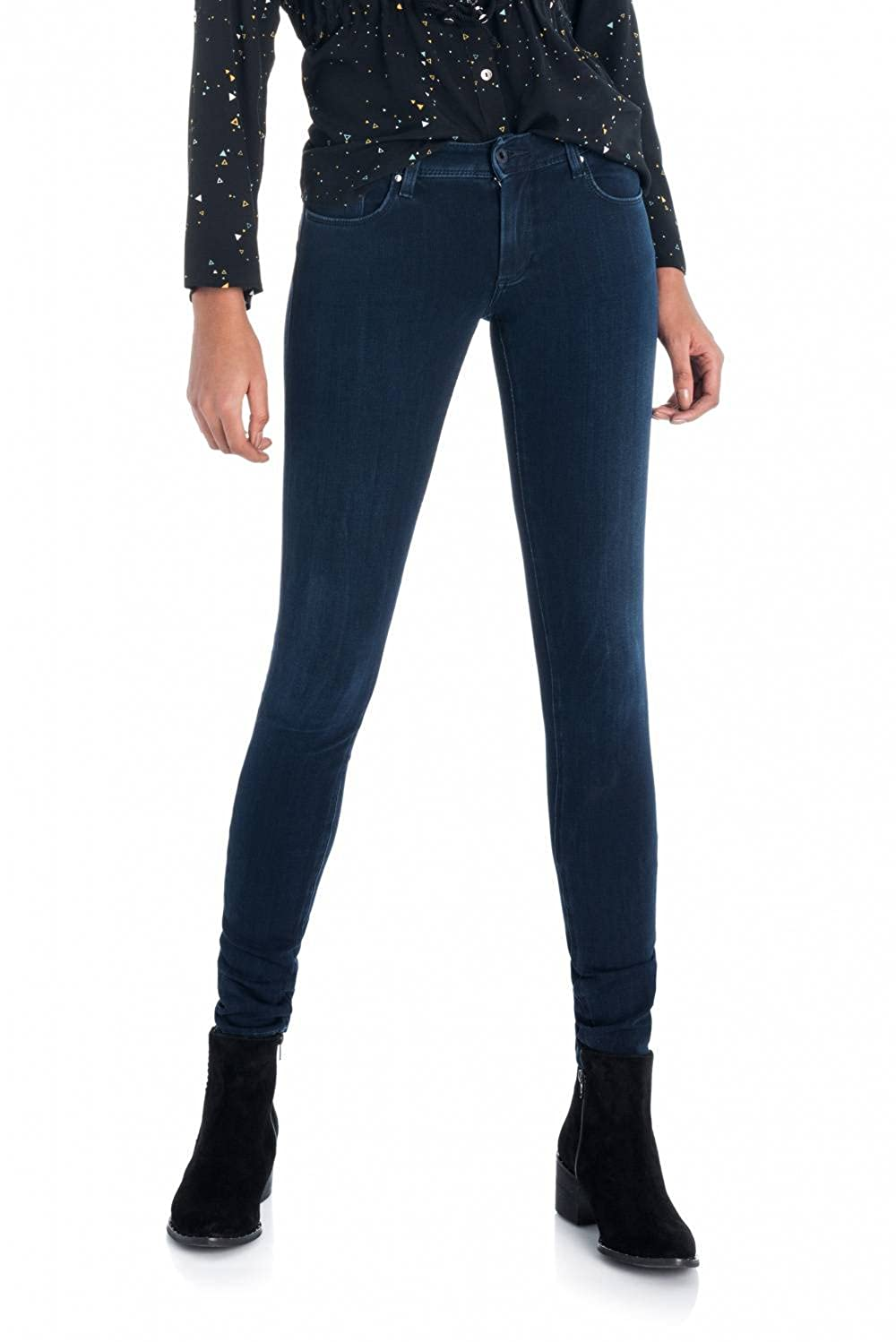 TALLA 25/32. Salsa Vaqueros Wonder Push Up Skinny Premium Flex