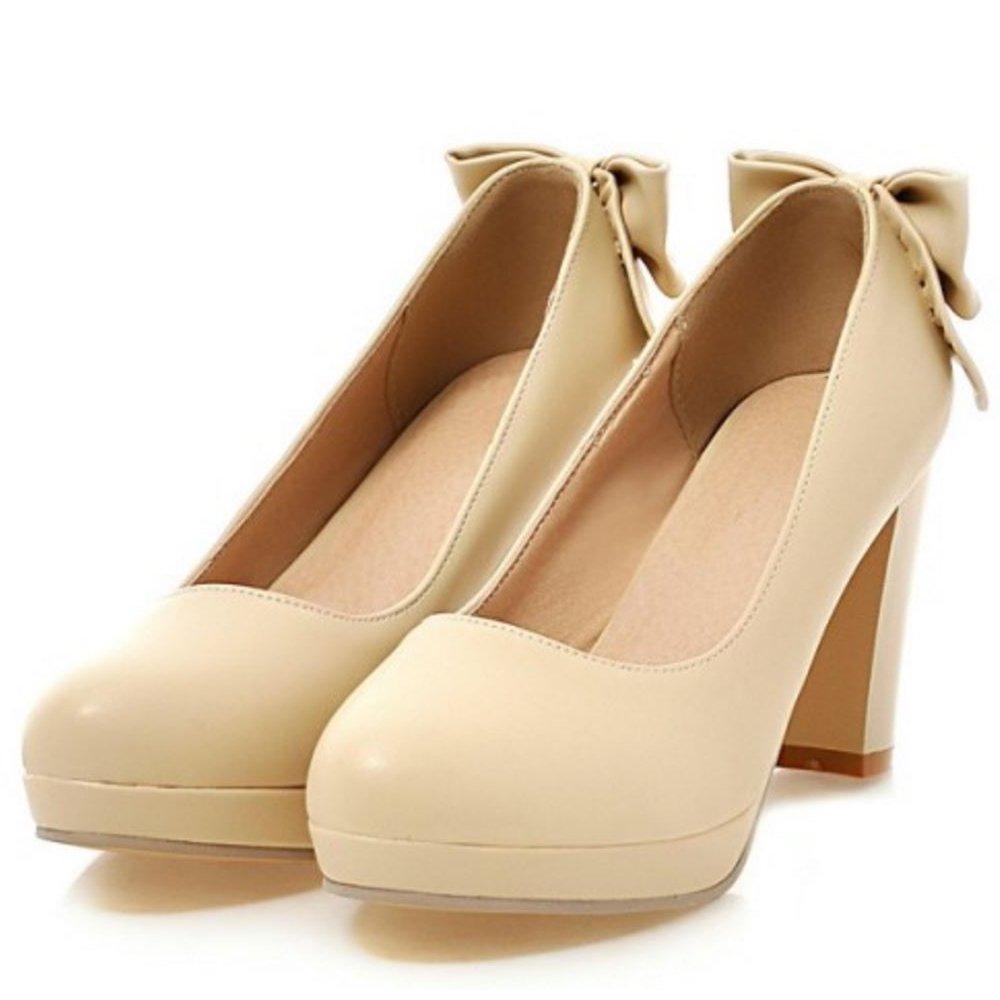4022f3ea7b354b Zanpa Damen Sweet Schuhe mit Absatz Plateau Pumps Mini Grs  Amazon.de   Schuhe   Handtaschen