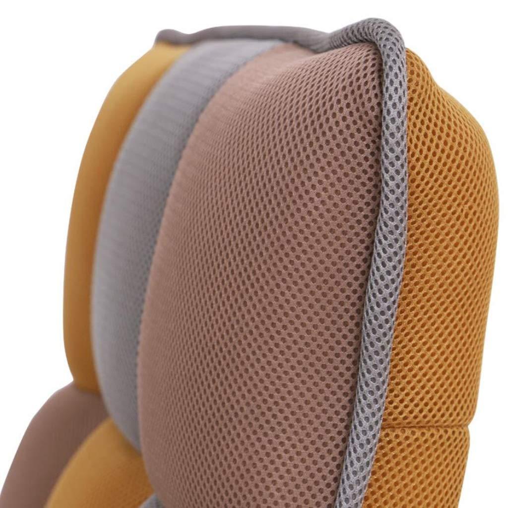YUHT hopfällbar golvstol, hopfällbar vadderad golv liten stol med justerbart ryggstöd tjock sittdyna lat lounge meditation spelsoffa (färg: Grön) golvstol Rosa