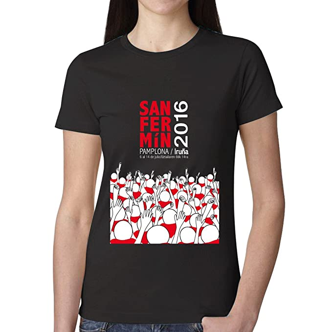 SanFe Ropa Camisetas Personalizadas Running New Tee SS - Camiseta de San Fermin 2016 de Casual