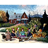 An Afternoon Stroll by Pauline Paquin, 1000 Piece Jigsaw Puzzle Made by Ravensburger