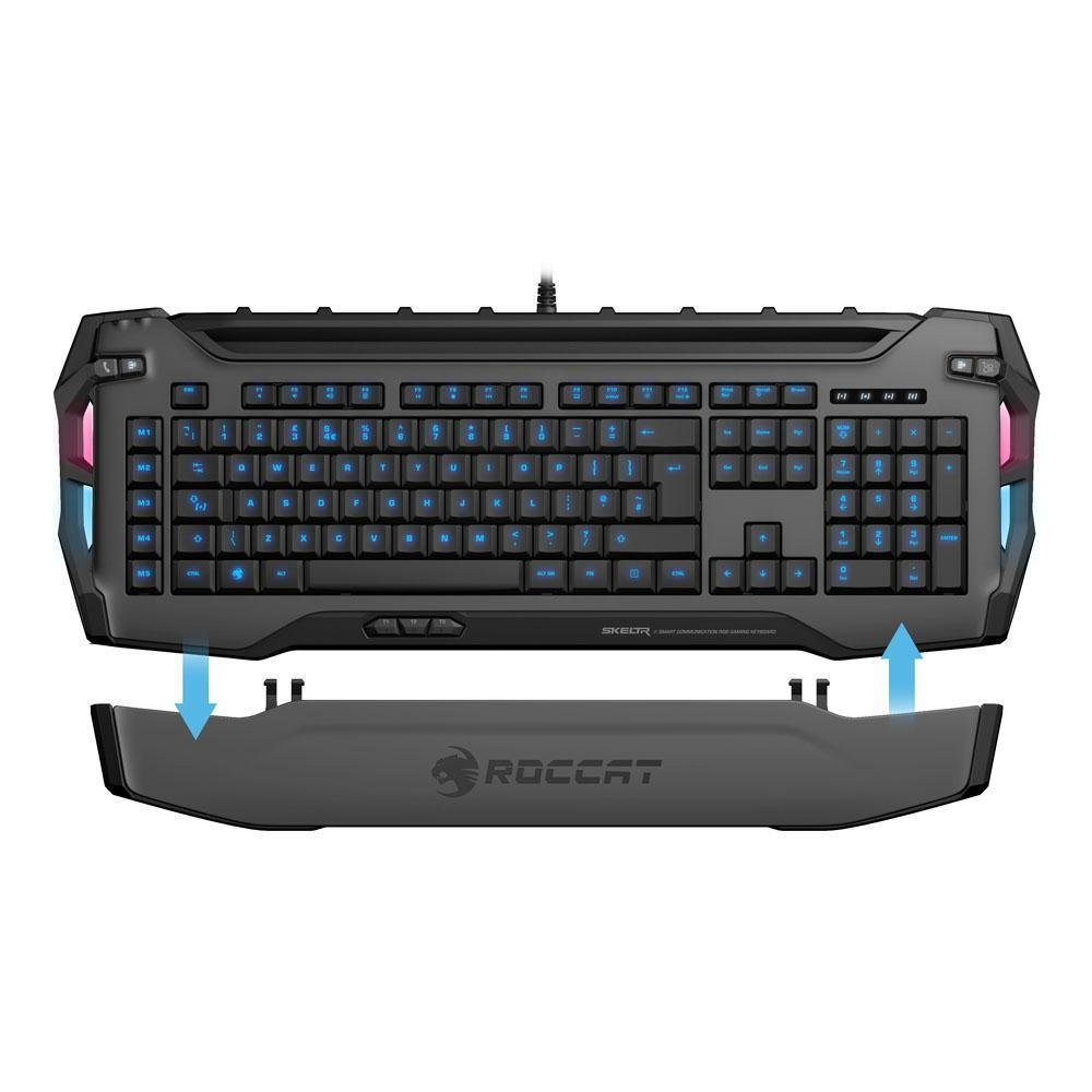 Roccat Skeltr - Smart Communication RGB Gaming Keyboard (ROC-12-231-GY)