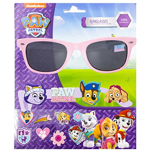 Nickelodeon Paw Patrol Kid's Sunglasses with 3D Slide-on Characters - On Sunglasses Slide
