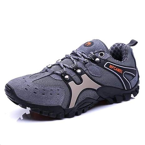 c9d7c9157a7ea HY Scarpe Casual da Uomo 2018 Scarpe da Trekking Outdoor Sneakers Senza  Lacci Scarpe