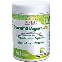 Bio-life - Curcuma + pipérine bio - 60 gélules - Défenses naturelles, digestion