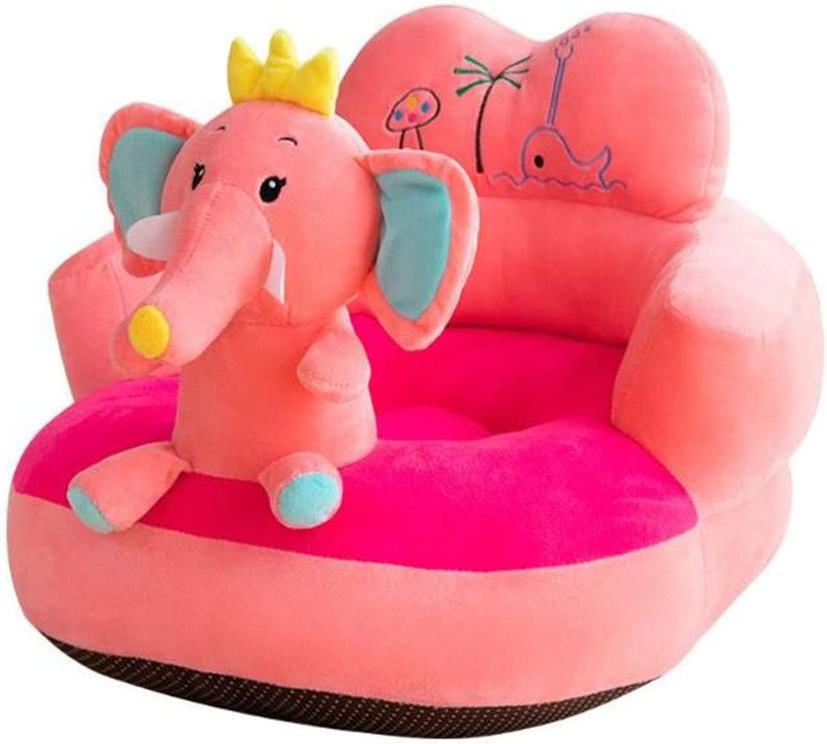 Baby Sofa Support Learning Seat Cover  Infant Toddler Nest Puff Without Cotton
