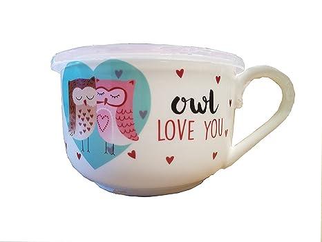 Amazon.com: Kitchen Craft Ciroa microwaveme Porcelana Fina ...