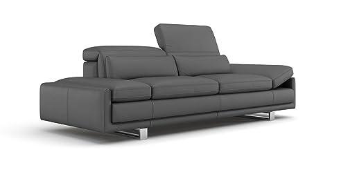 Luxus ledercouch  Ledersofa 3 Sitzer Luxus Sofa Portobello: Amazon.de: Küche & Haushalt