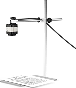 Thustand Document Camera, V4K/2448P Ultra High Definition Auto Focus USB Webcam, Portable USB Camera for Windows, macOS and Chrome OS Compliant for Live Demo, Web Conferencing, Distance Learning