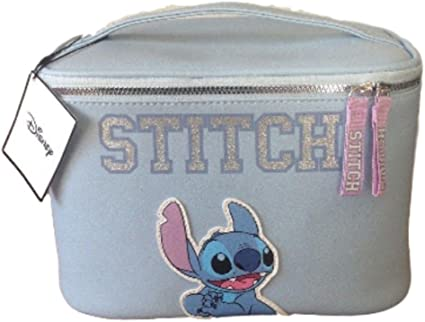 Primark ~ Disney Stitch ~ bolsa de maquillaje grande ~ caja de aseo ~: Amazon.es: Belleza