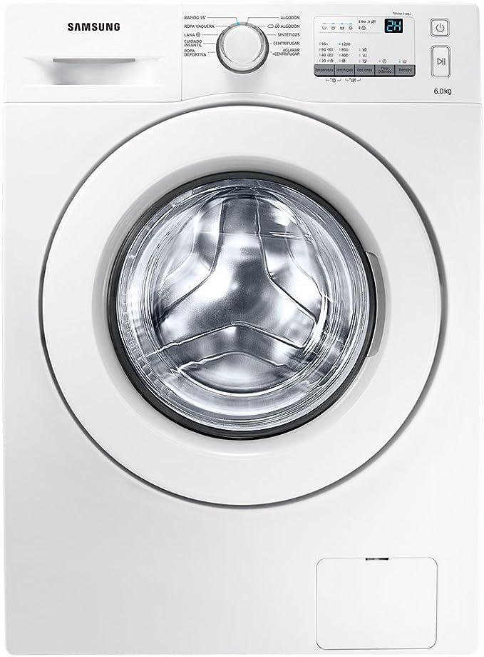 Samsung WW60J3287LW Independiente Carga frontal 6kg 1200RPM Blanco ...