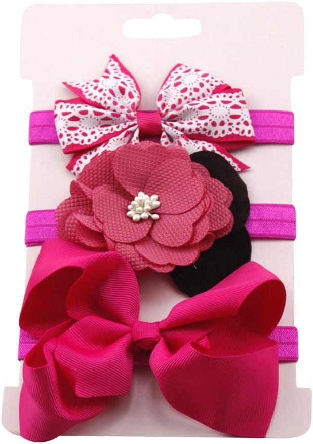Namgiy 3/x Fascia per Capelli Accessori Attrezzi Lovely Cute for Baby Kid Girl #1 Regolabile